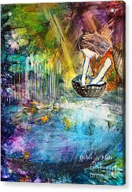Finding Moses Acrylic Print