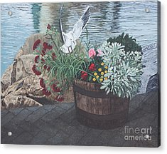 Finding Rest Acrylic Print