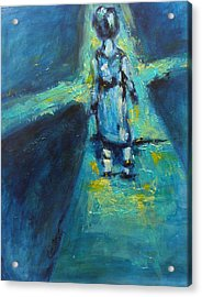 Finding The Way Acrylic Print by Valerie Greene