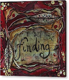 Finding...me Acrylic Print