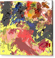 Fine Art Digital Palette 0848b Acrylic Print