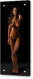 Fine Art Female Nude Jean Standing I Acrylic Print