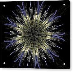 Fine Elegance Mandala Acrylic Print