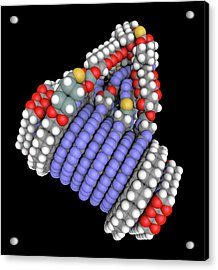 Fine-motion Molecular Controller Acrylic Print by Alfred Pasieka