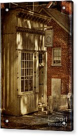 Fine Repairs Acrylic Print by Lois Bryan