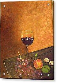 Fine Wine Acrylic Print
