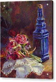 Finer Things Still Life By Karen Whitworth Acrylic Print