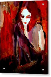 Acrylic Print featuring the painting Finesse by Helena Wierzbicki