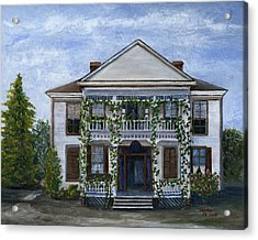 Finn Hotel Pleasant Hill Louisiana Acrylic Print