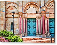 Finney Chapel Oberlin College Acrylic Print by Mary Timman
