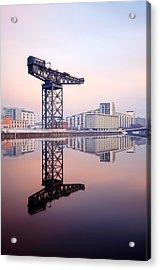 Finnieston Crane Reflection Acrylic Print