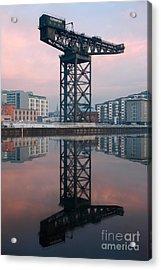 Finnieston Crane Reflections Acrylic Print