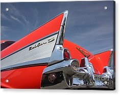 Fintastic '57 Chevy Acrylic Print