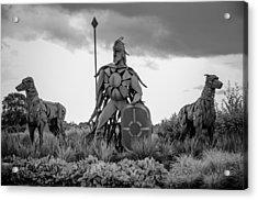 Fionn Mac Cumhaill And His Hounds Acrylic Print