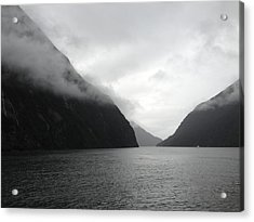 Fiordlands Acrylic Print by Ron Torborg