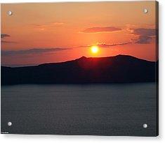 Firastefani Sunset Acrylic Print