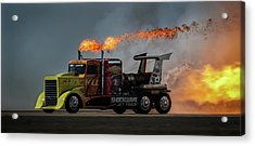 Fire & Speed - Mcas Miramar Air Show Acrylic Print by David H Yang