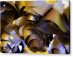Fire And Steel Acrylic Print by Raymond Kunst
