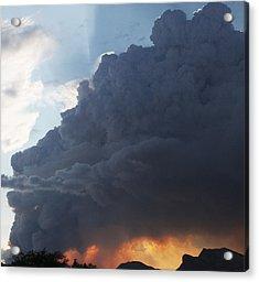 Fire Below Acrylic Print