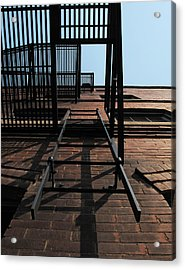 Fire Escape  Acrylic Print by Don Spenner