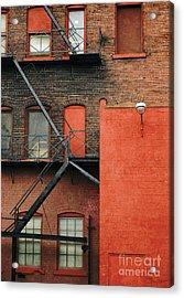Fire Escape Acrylic Print