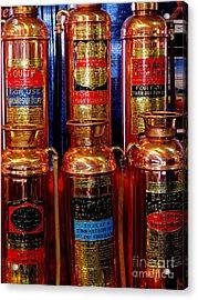 Fire Extinguishers 2 Acrylic Print