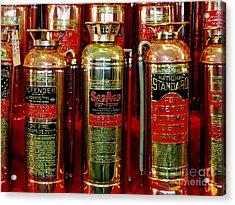 Fire Extinguishers Acrylic Print