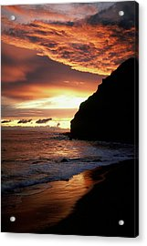Fire In The Sky Acrylic Print by Cliff Wassmann