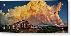 Fire In The Sky Acrylic Print