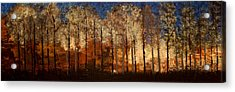 Fire On The Mountain Acrylic Print