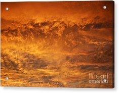 Fire Sky Acrylic Print by Manda Renee