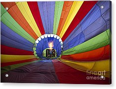 Fire The Balloon Acrylic Print