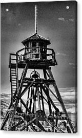 Fire Tower 2 Acrylic Print by Fran Riley