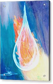 Fire Water Acrylic Print