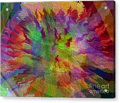 Acrylic Print featuring the photograph Fire Within by Kathie Chicoine
