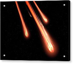 Fireballs Acrylic Print