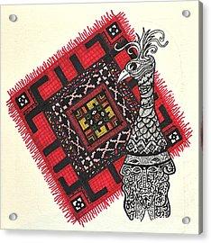 Firebird Acrylic Print by Branko Jovanovic