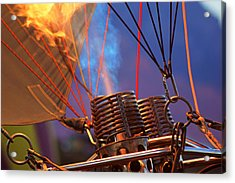 Fired Up Acrylic Print by Daniel Woodrum