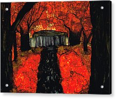 Firefall Acrylic Print