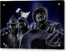 Firefighter Heroes Acrylic Print