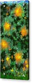 Acrylic Print featuring the digital art Fireflies by Lena Wilhite