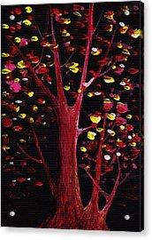Firefly Dream Acrylic Print by Anastasiya Malakhova