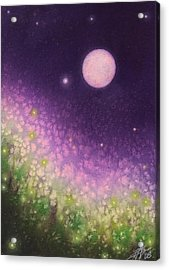 Firefly Night II Acrylic Print