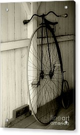 Firehouse Velocipede Acrylic Print by RC deWinter