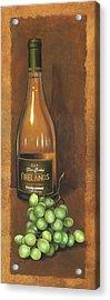 Firelands Chardonnay Acrylic Print by Terri  Meyer