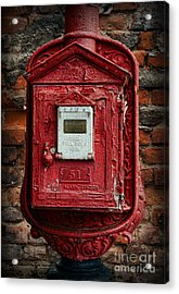 Fireman - The Fire Alarm Box Acrylic Print