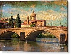 Ponte Alla Carraia Acrylic Print