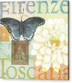 Firenze Acrylic Print by Debbie DeWitt