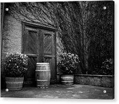 Firestone Vineyard Acrylic Print by Jeff Garris