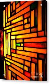 Firewall Acrylic Print by Newel Hunter